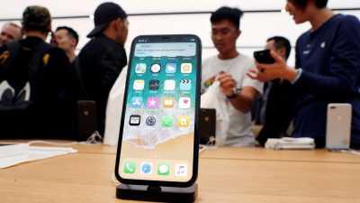 Layar iPhone X Membeku Saat Cuaca Dingin
