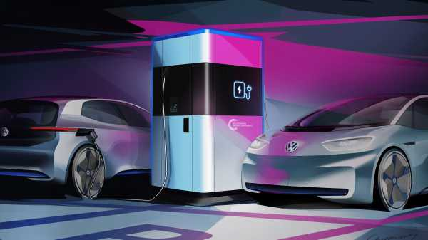 Volkswagen Mau Bikin Powerbank untuk Mobil Listrik