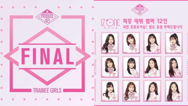 Potret 12 Member IZ*ONE, Girl Group Jebolan Produce 48