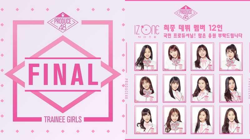 Potret 12 Member IZ*ONE, Girl Group Jebolan Produce 48
