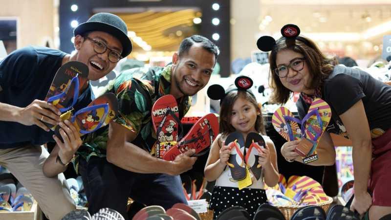 Rayakan Ulang Tahun Mickey Mouse, Havaianas Rilis Sandal Edisi Khusus