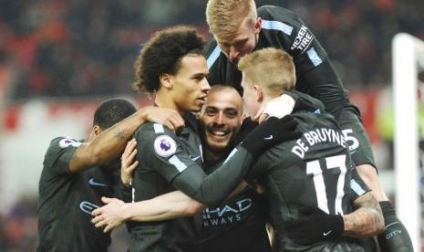 City Dapat Pastikan Juara Liga pada Derby Manchester