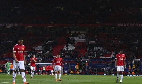 Takluk di Old Trafford, MU Tersingkir dari Liga Champions