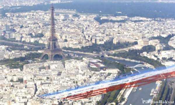 Mirip Banget, Kota Paris KW di China