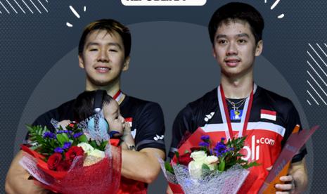 Juarai China Open, Kevin/Marcus Tetap Puji Ahsan/Hendra