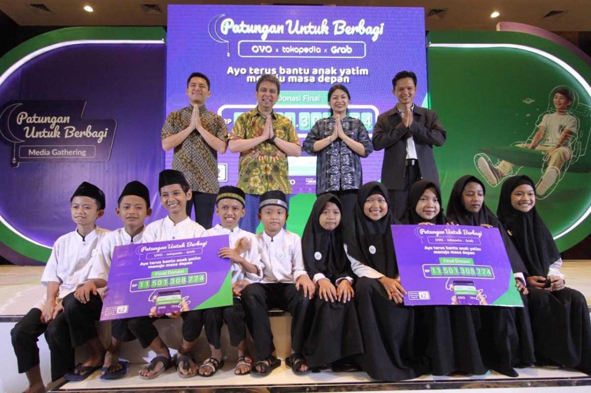 Festival Patungan Untuk Berbagi 2019 Berhasil Menggalang Rp 11,5 Miliar