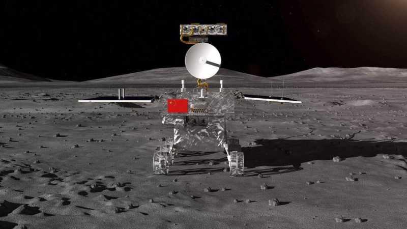 Badan Antariksa China Tampilkan Foto Sisi Jauh Bulan yang Misterius