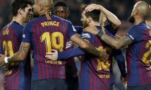 Laga Lyon-Barcelona Berakhir Tanpa Gol