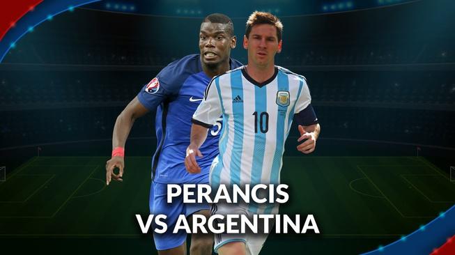 Perancis vs Argentina: Messi dan Banega versus Dilema ...