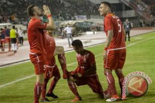 Persija unggul 2-0 atas Bali United babak pertama