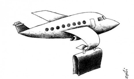 Trik Naik Pesawat Kelas Bisnis Lebih Murah