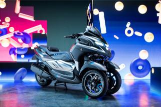 Yamaha Hadirkan Prototipe Motor Roda Tiga Terbaru