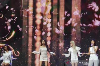 Kekuatan vokal dalam suasana akrab pada pertunjukan MAMAMOO Jakarta