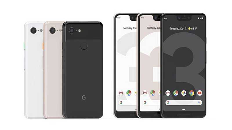 Google Resmi Merilis Smartphone Pixel 3 dan 3 XL
