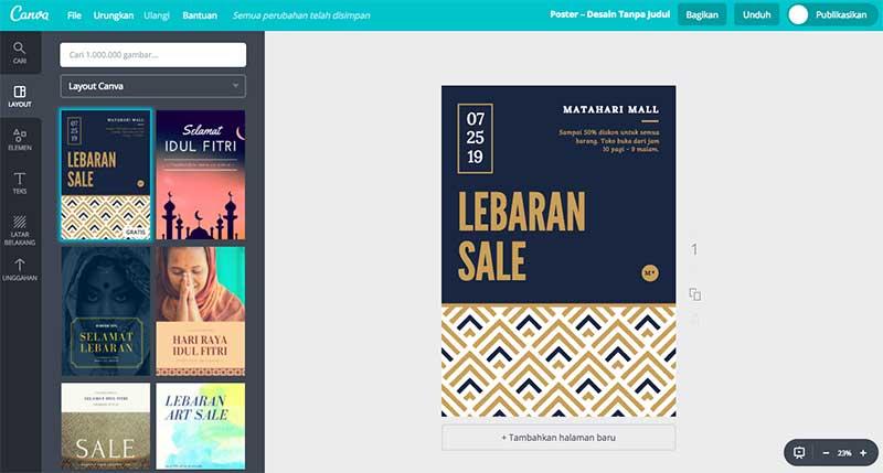 Platform Desain Online Canva Resmi Hadir di Indonesia