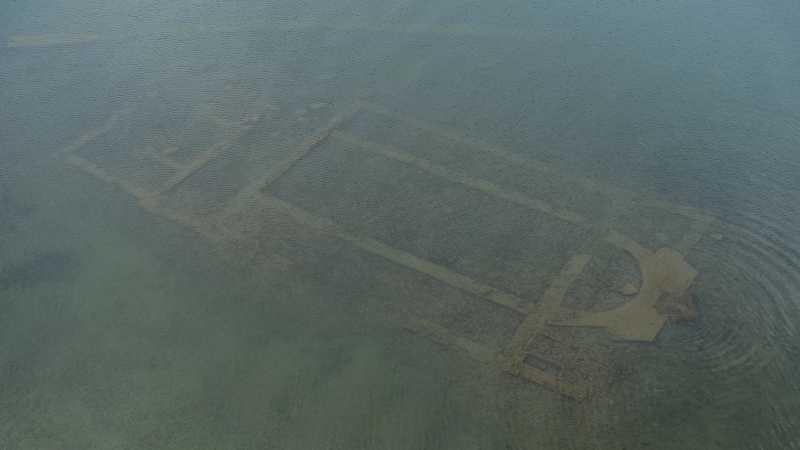 Gereja Kuno Ditemukan Tersembunyi di Bawah Danau Turki