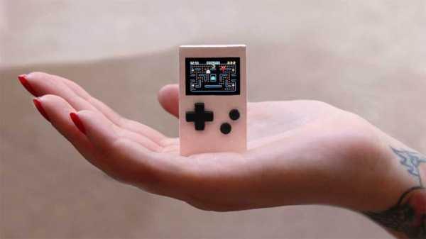 PocketStar, Konsol Game Seukuran Gantungan Kunci