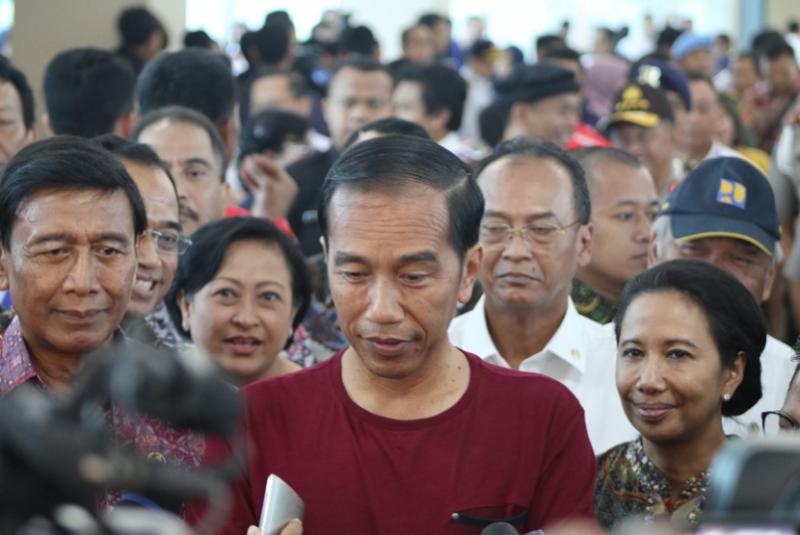 Jokowi Minta Pemprov DKI Subsidi Kereta Bandara