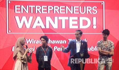Jokowi: Lulus Kuliah, Jangan Semua Ingin Jadi Pegawai