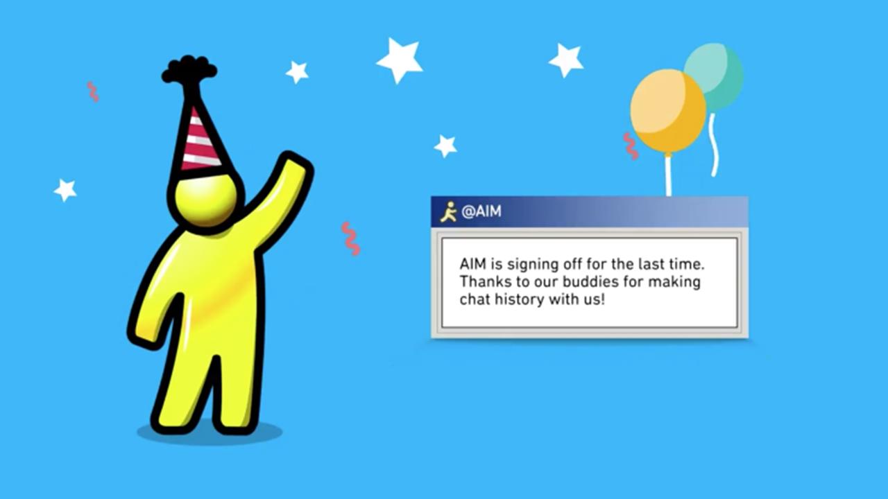 Setelah 20 Tahun, AOL Instant Messenger Akhirnya Mati