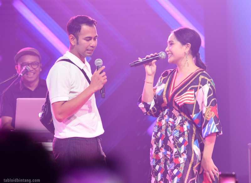 Konser Satu Hati, Nagita Slavina Nyanyikan Lagu Yuni Shara untuk Raffi Ahmad
