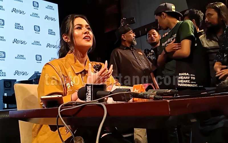 Kembali Bermusik, Raisa Gelar Showcase Lewat Live Streaming