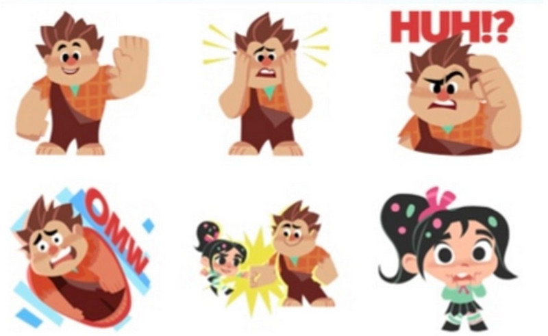 "WhatsApp dan Disney Rilis Stiker ""Ralph Breaks the Internet"""