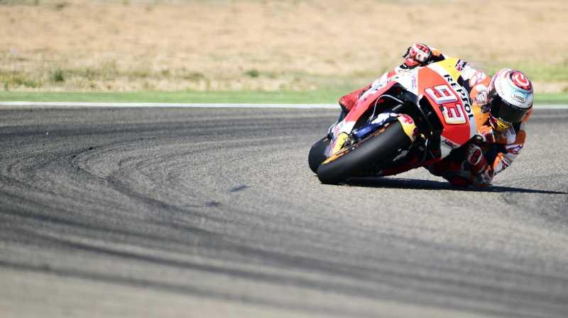 Marquez Start Terdepan di MotoGP Valencia