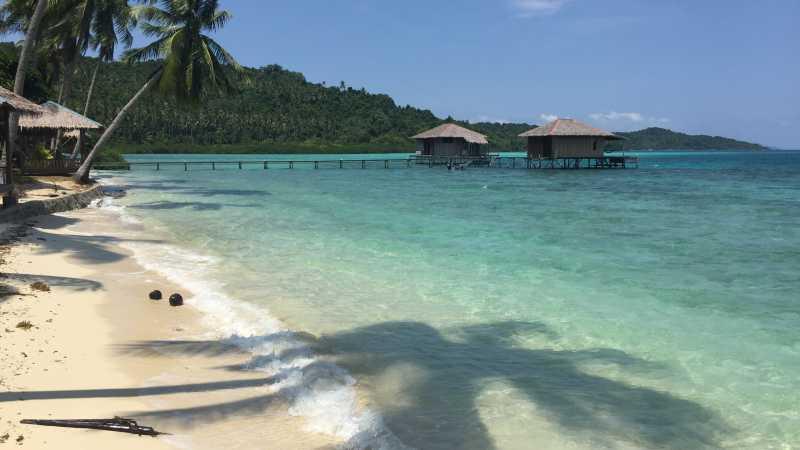 Pesona Pulau Piugus, Pulau Cantik bak Maldives versi Indonesia