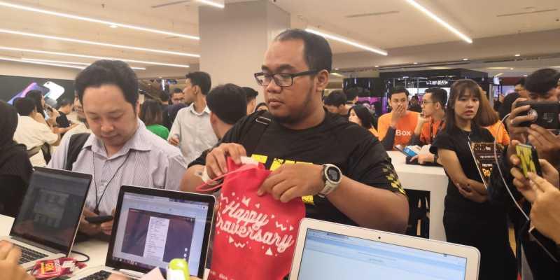 Perbedaan Antrean iPhone XS di Jakarta yang Lebih Sepi dari iPhone X