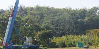 Roket Terbesar Buatan Indonesia Meluncur di Garut