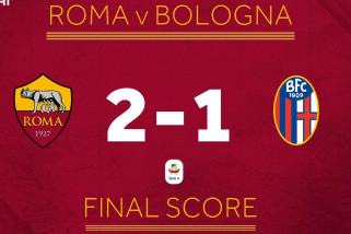 Olsen pahlawan kemenangan Roma 2-1 atas Bologna