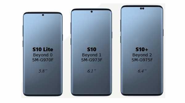Samsung Galaxy S10 Punya Lubang Kecil di Layar untuk Kamera Selfie?