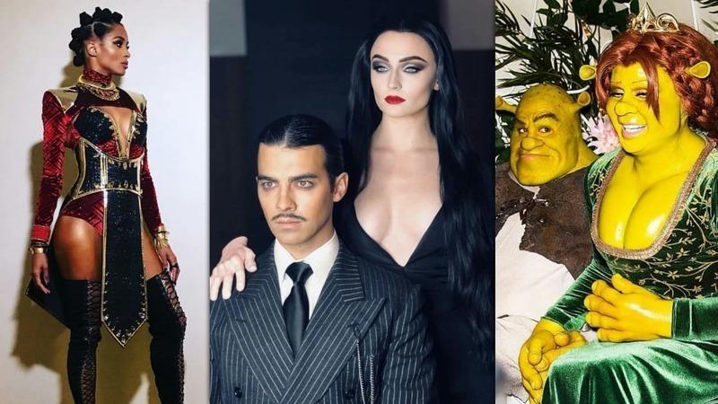 17 Selebriti Dengan Kostum Halloween Terbaik 2018