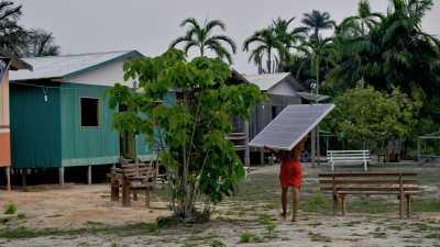Wilayah Paling Gelap di Hutan Amazon Kini Terang Benderang