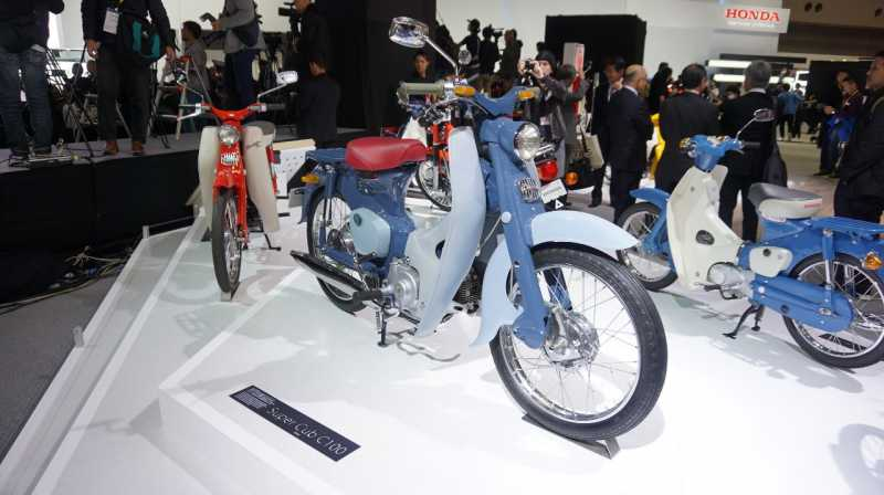 Trio Motor Bebek Legendaris Honda di Indonesia