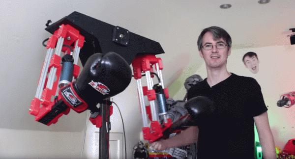 Robot Ini Berikan Sensasi Bermain Game VR