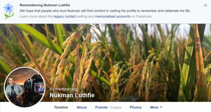 "Facebook Ubah Akun Nukman Luthfie jadi ""Akun Kenangan"""