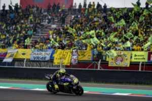 Duo pebalap Yamaha beri perlawanan ke Marquez di FP2