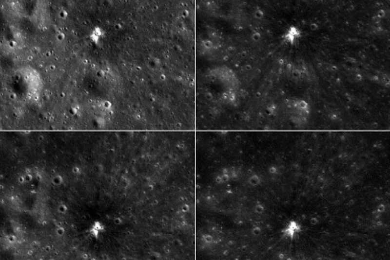 Kecerdasan Buatan Identifikasi Ribuan Kawah di Bulan