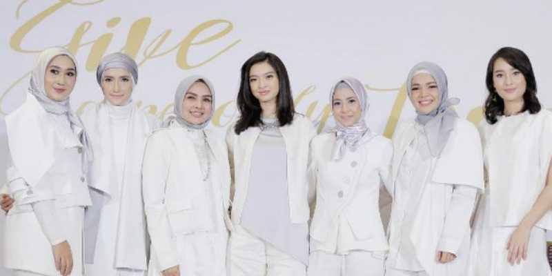 Para Selebriti Cantik Isi Ramadan dengan Tebar Kebaikan