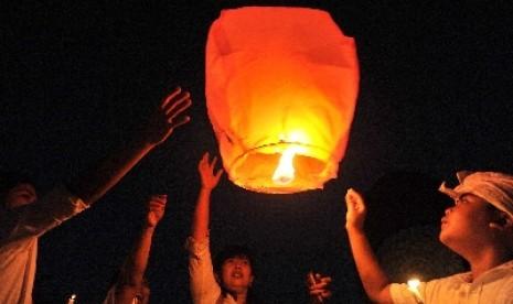 Ribuan Lampion akan Sambut Tahun Baru di Borobudur