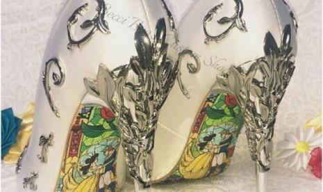 Desain Sepatu Ini Terinspirasi Film Beauty and the Beast