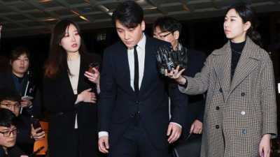 Polisi Tuding Seungri dan Yoo In Suk Gelapkan Uang Burning Sun Sebesar 12 Miliar