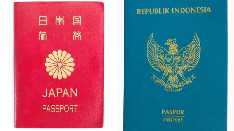 Paspor Jepang Jadi yang Terkuat di Dunia, Indonesia Peringkat Berapa?