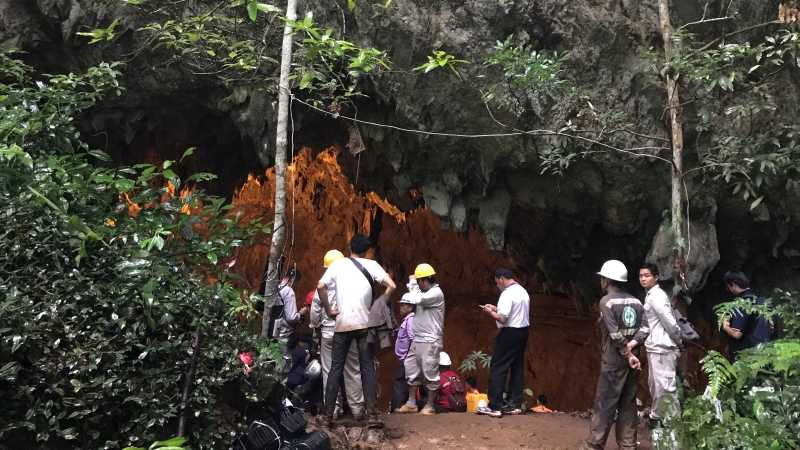 Labirin Berbahaya Gua Tham Luang, Tempat 12 Anak Terjebak
