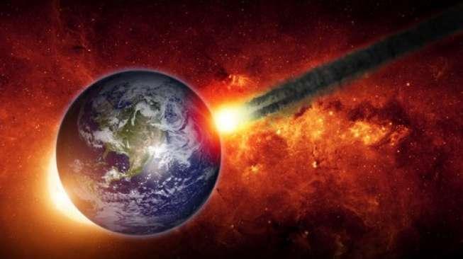 Bahaya! Asteroid Seukuran Bus Siap Hantam Bumi