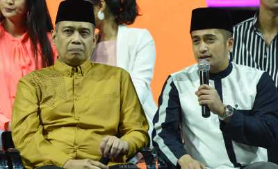 Sambil Menangis, Irfan Hakim Pamit dari Program Siraman Qolbu