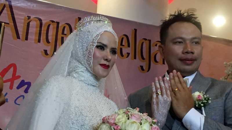 Respons Angel Lelga dan Vicky soal Ijab Kabul Pakai Nama Panggung