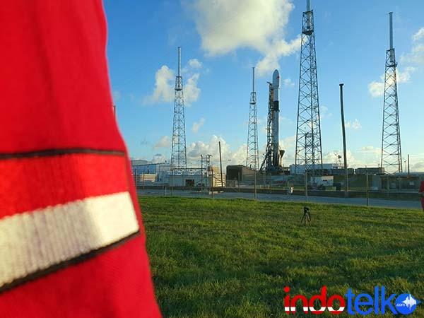 Telkom mulai operasikan Satelit Merah Putih